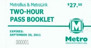 Two-Hour Pass Booklet